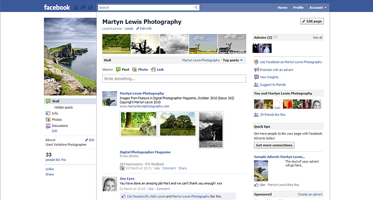 Martyn Lewis Photography on Facebook